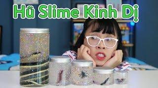 Slime Hũ Rượu Rắn Và Một Số Charm Slime Kinh Dị Cho Halloween