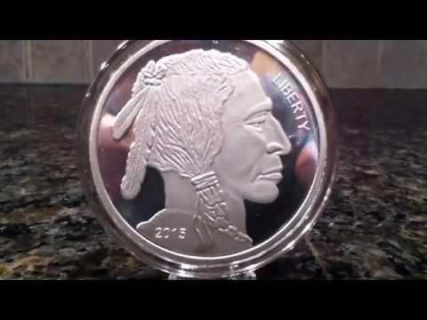 5oz Silver Buffalo Round