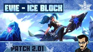 PALADINS FR - On test la nouvelle carte d'Ice Block d'EVIE (Patch 2.01)