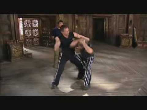 Keysi Fighting Method demo clip from Batman Begins