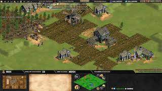 #4 AGE OF EMPIRES 2 ! EXPERT PLAYERS ! TWIGG VS F1RE - MAP ARABIA