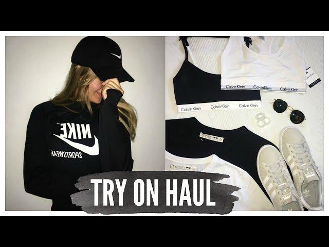 TRY ON HAUL ? Ray-Ban, Calvin Klein, Nike, Adidas mm. ?JUNKYARD.dk