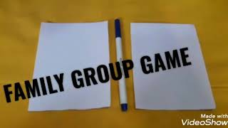 Family Group game/Fun game for all parties