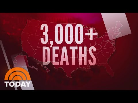 US Coronavirus Death Toll Now Exceeds 3,000 Amid New Stay-At-Home Orders | TODAY