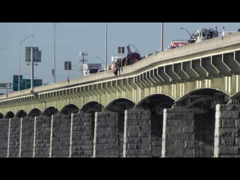 Accident on I-83 South Bridge