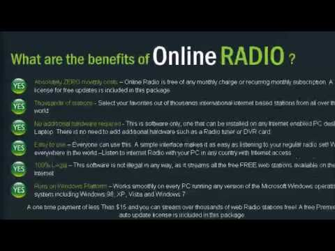 online radio software easy listening online radio - web radio stations - streaming radio stations