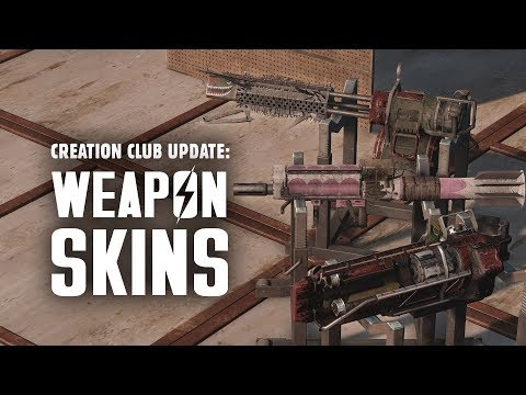 Creation Club Update: Weapon Skins & More for Fallout 4