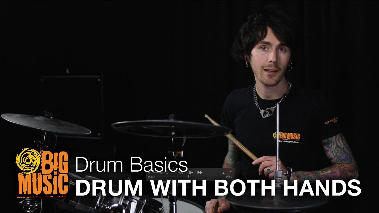 Drum Basics - Drumming With Both Hands