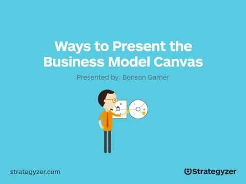 Webinar #4: Ways To Present The Business Model Canvas