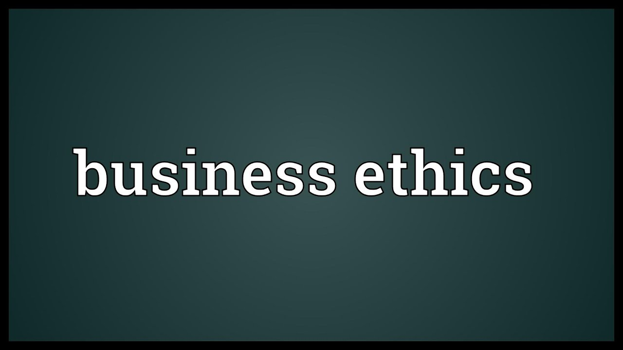 Ethics Vs. Capitalism - Can Business Ethics & Capitalism Coexist?