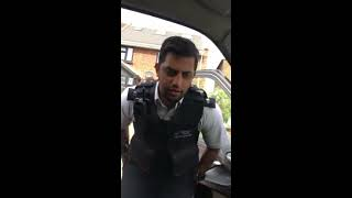 POLICE HARASSING UBER DRIVER