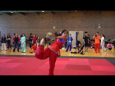 2019 Wushu Collegiates Julia Leung Straightsword