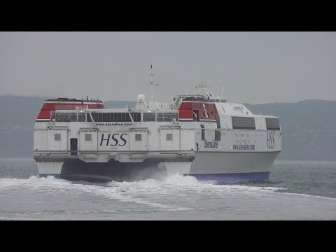 Stena H.S.S. Explorer - The World's Largest Fast Ferry