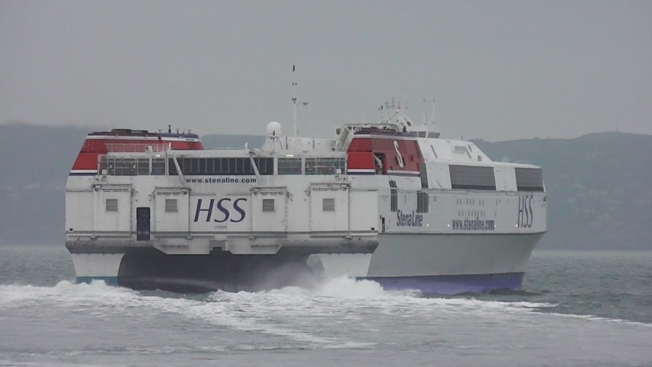 Stena H.S.S. Explorer - The World's Largest Fast Ferry ...