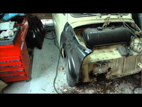 fiat 500 l restoration part 1 youtube rh youtube com Fiat 500 4 Door Fiat 500 Convertible