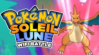 MATCH WIFI POKEMON SOLEIL/LUNE: MEGA DRACAUFEU Y TROP HOT !
