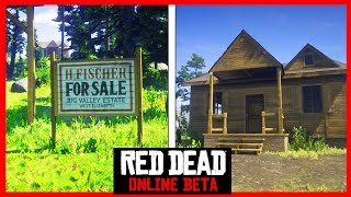 RDR2 ONLINE - HOUSES & PROPERTIES FOUND!