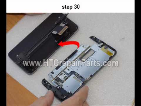 Self Repair / Disassembly for HTC Desire Z , DESIRE Z VISION,  A7272