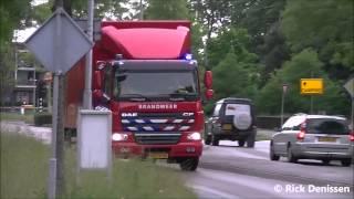 prio 1 coh 9991 brandweer oosterhout met spoed naar ontruiming intents festival oisterwijk 2015