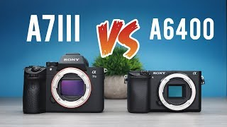 Sony a7iii vs Sony a6400: Ultimate Comparison