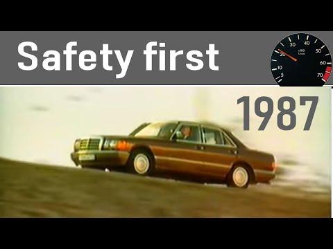 """""""Sicherheitssysteme in Mercedes-Benz PKW (W201, W124, W126)"""" Ein Promo Video der Daimler AG"""