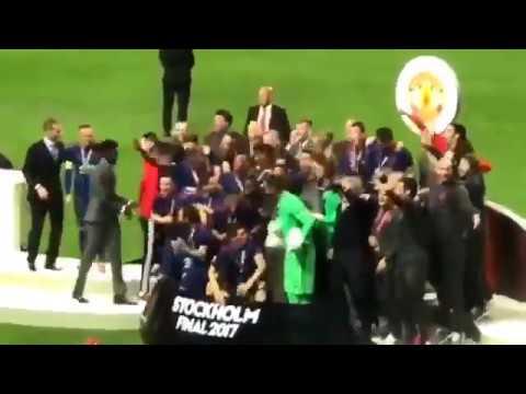 ManUtd Europa League Celebrations 2017