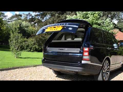 RANGE ROVER AUTOBIOGRAPHY MARIANA BLACK - YouTube
