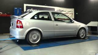 Reprogrammation moteur Opel Astra 1.8L 125cv @ 150cv dyno digiservices