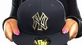 f5633c76 Yankees 'MURDERERS ROW' Melton Grey Fitted Hat by New Era - YouTube