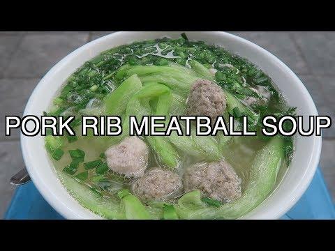 HANOI STREET FOOD BUN MOC