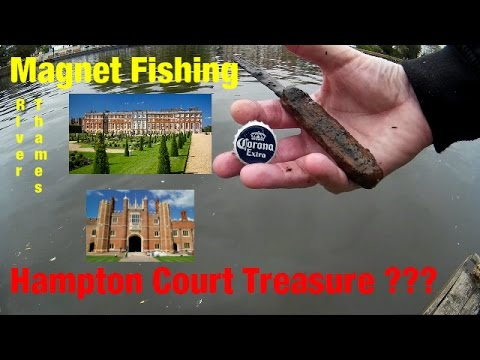 Magnet Fishing River Thames | Kingston To Hampton Court In Search Of Henry VIII's Treasure|
