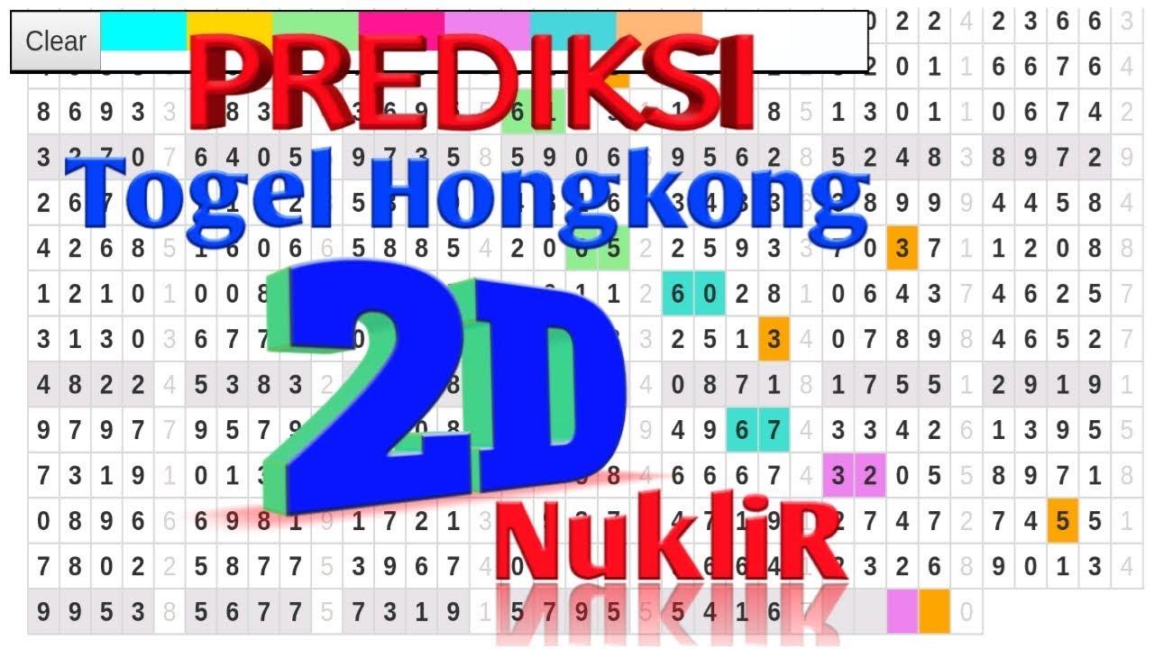 Prediksi Togel HK malam ini Sabtu 23 Maret 2019-2D Nuklir