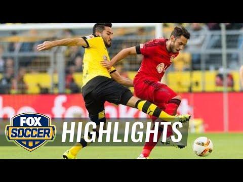 Borussia Dortmund vs. Bayer 04 Leverkusen - 2015–16 Bundesliga Highlights