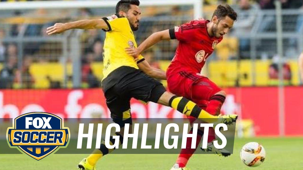 bvb leverkusen highlights