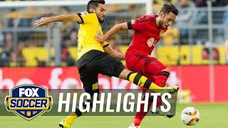 Borussia Dortmund vs. Bayer 04 Leverkusen - 2015–16 Bundesliga Highlights