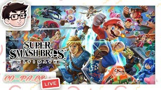 Riley Smashes Fans While People Watch (Real)   Super Smash Bros. Ultimate   Co-Pal LIVE!