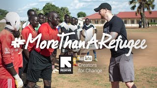 Football Helps Unite The World | #MoreThanARefugee thumbnail