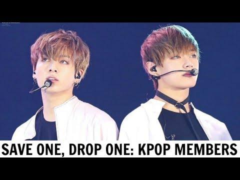 SAVE ONE, DROP ONE | KPOP MEMBERS