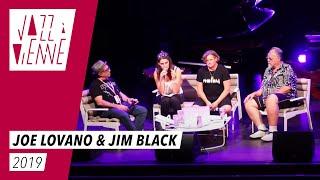 Joe Lovano & Jim Black - Conférence Jazz à Vienne