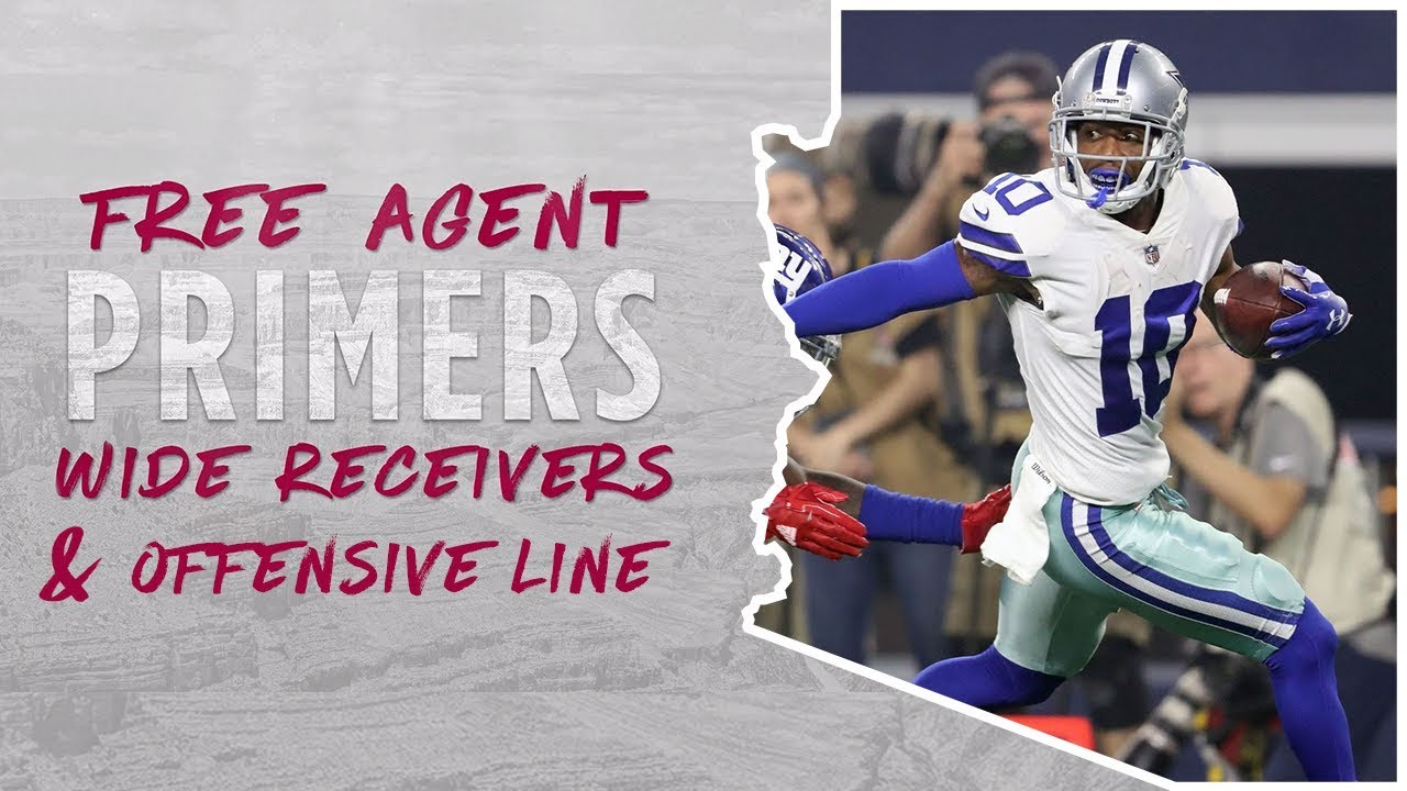 Arizona Cardinals Free Agent Primers: Wide Receivers & Offensive Line