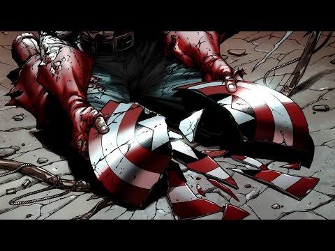 Создание и разрушение щита Капитана Америка