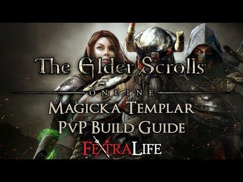 Magicka Templar PvP Build Guide: ESO Morrowind