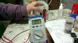 Projeto de fonte com voltagem ajustável vídeo 1.