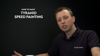 WHTV Tip of the Day - Tyranid Speed Painting.