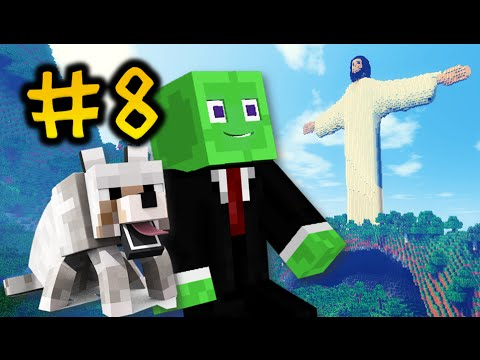 Minecraft | I SAVED THE WORLD! | CHRIST THE REDEEMER! [#8]