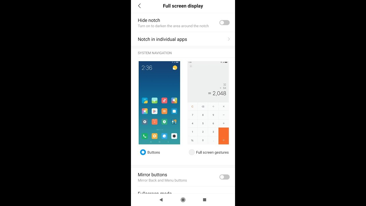 3 78 MB) Notch Hide Option Enable in Poco F1 After 10 3 4