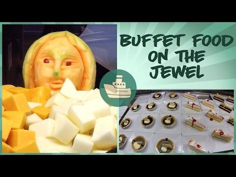 Norwegian Jewel Buffet Food