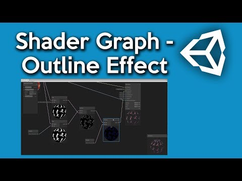 Unity Shader Graph - How to make an Outline Shader - YouTube