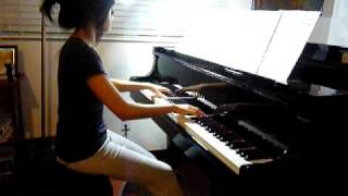 Caramelldansen (Speedycake Remix) on Piano
