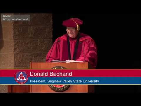 Investiture Ceremony of Donald J. Bachand